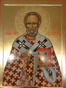 Икона святителя Николая архиепископа Мир Ликийских